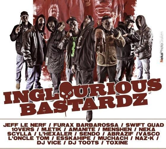 inglourious bastardz rap