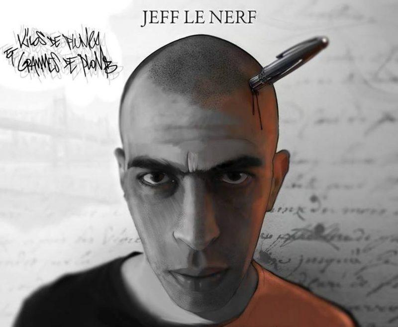 cover album cd rap francais jeff le nerf kilo de plumes et gramme de plomb shoptonhiphop