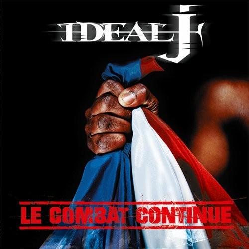 Ideal J Le combat continue - Album CD - Cover - Shoptonhiphop