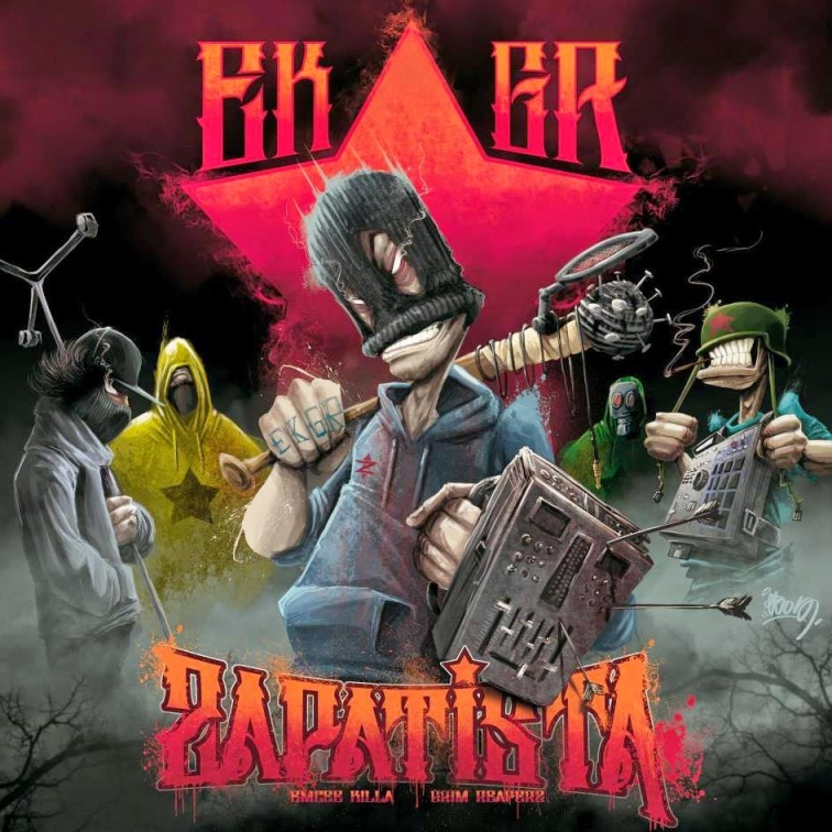 EMCEE KILLA & GRIM REAPERZ Zapatista - Album CD - Shoptonhiphop