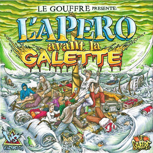 Le Gouffre L'apéro avant la galette - Album CD - Cover - Shoptonhiphop