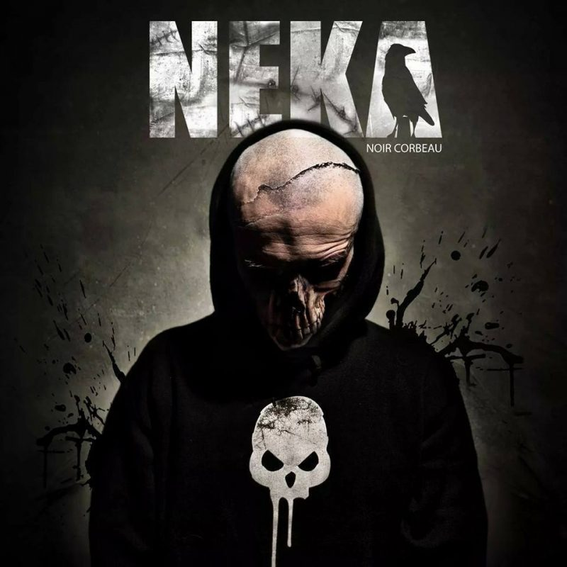 Cover album cd rap francais neka noir corbeau shoptonhiphop