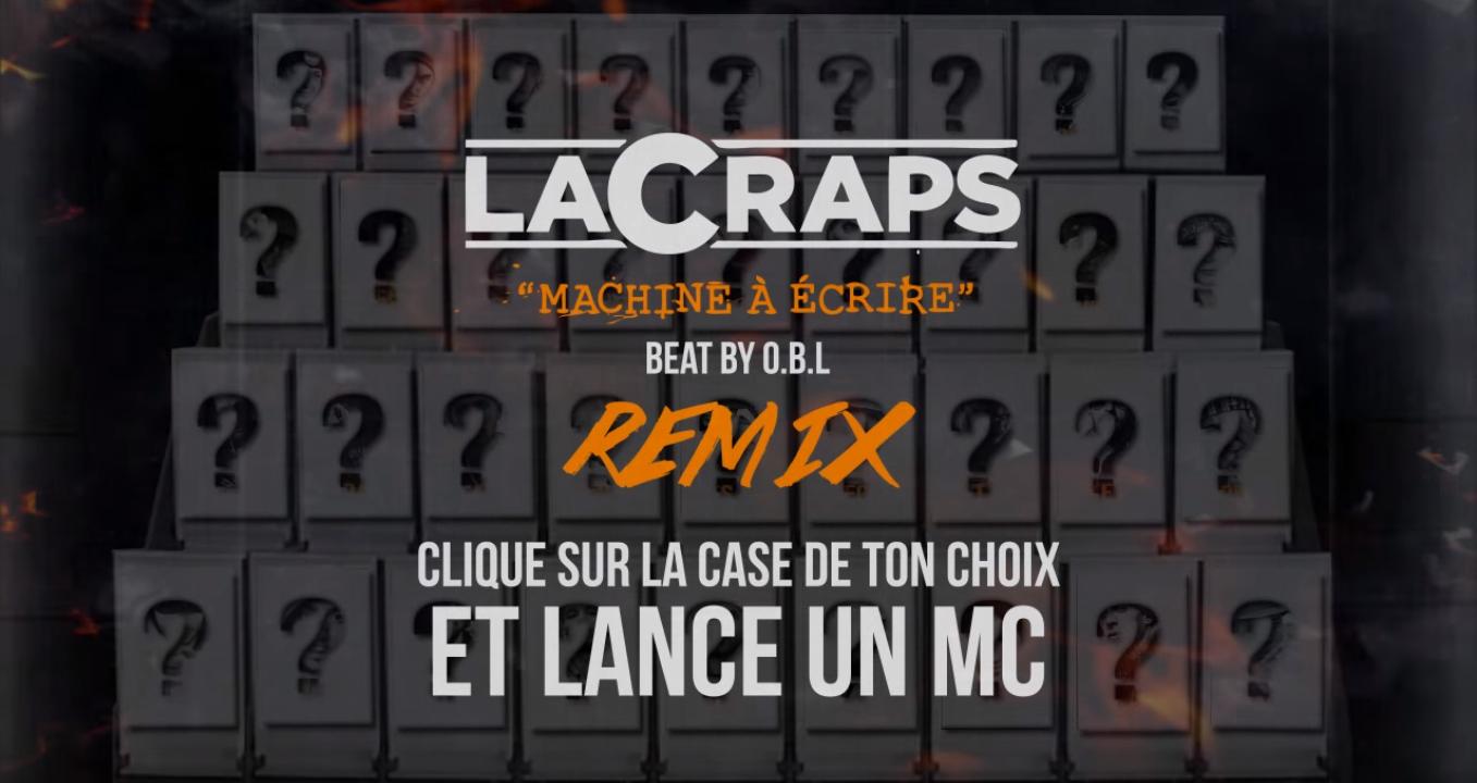 Clip rap francais machine à écrire remix lacraps shoptonhiphop