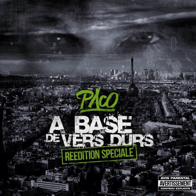 Paco-a base de vers durs-reedition-album rap francais-shoptonhiphop