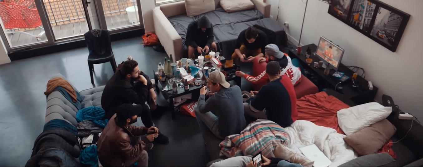 Clip rap francais davodka accusé de reflexion shoptonhiphop