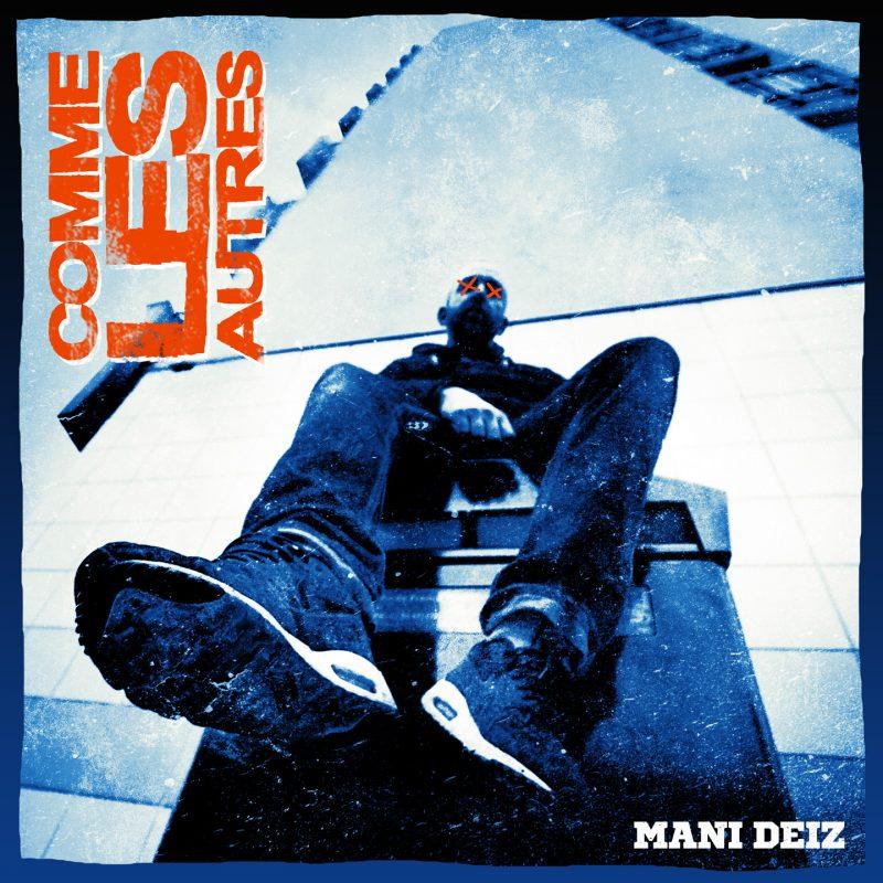 Cover album CD rap francais mani deïz comme les autres shoponthiphop