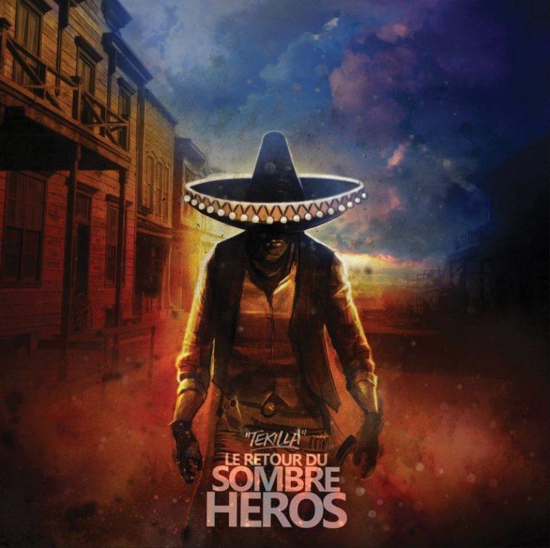 Cover album rap francais tekilla le retour du sombre heros shoptonhiphop