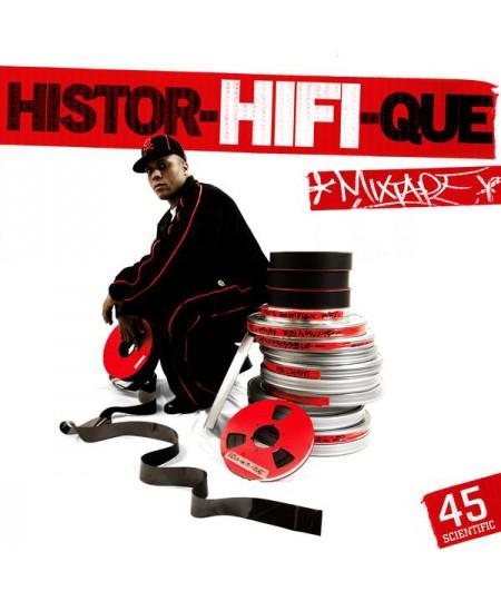 Cover album cd rap francais Hifi historhifique shoptonhiphop