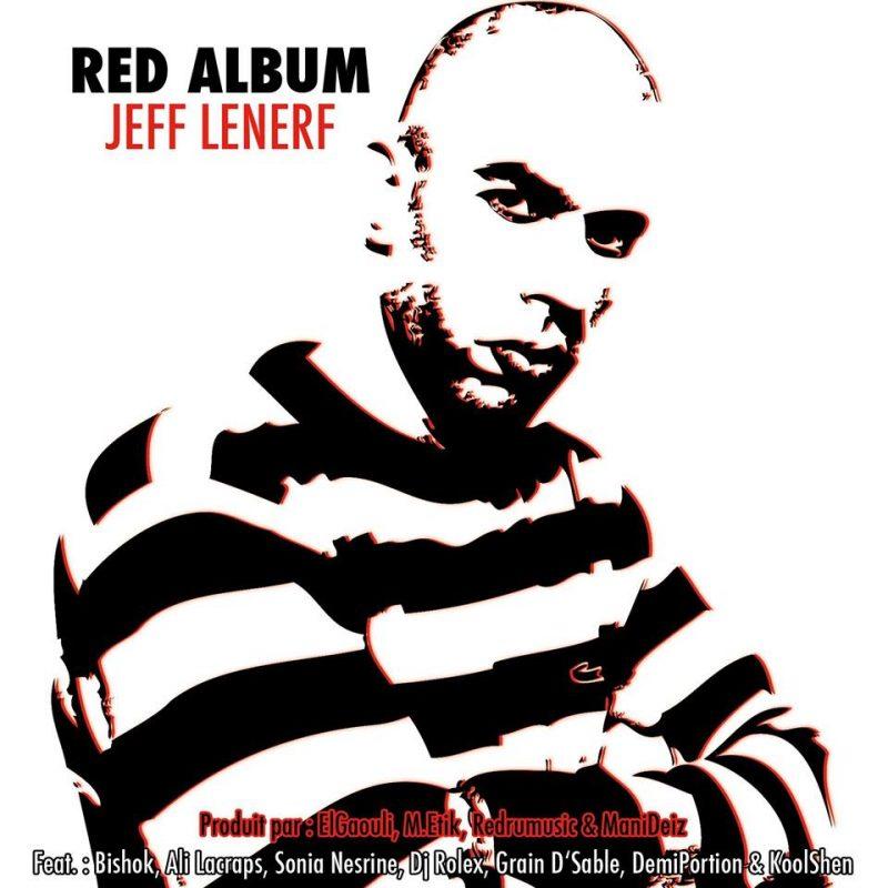 Cover album cd rap francais jeff le nerf redalbum shoptonhiphop
