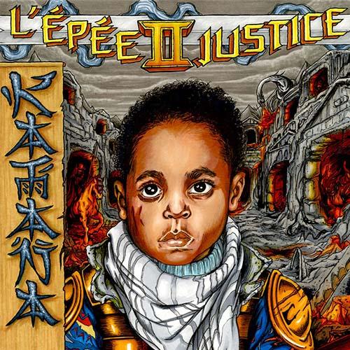 Cover album cd rap francais katana l'épée II justice shoptonhiphop