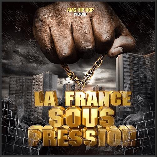 Cover album cd rap francais la france sous pression shoptonhiphop