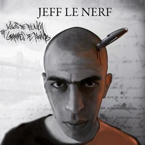 Cover vinyle rap francais jeff le nerf kilos de plumes et grammes de plomb shoptonhiphop
