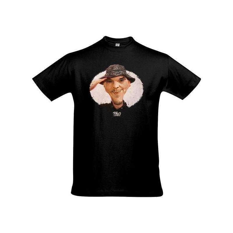T-shirt-Paco-Amuse-Gueule-noir-Streetwear-Shoptonhiphop