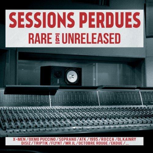 cover album cd rap francais Sessions perdues (Rare & Unreleased) shoptonhiphop