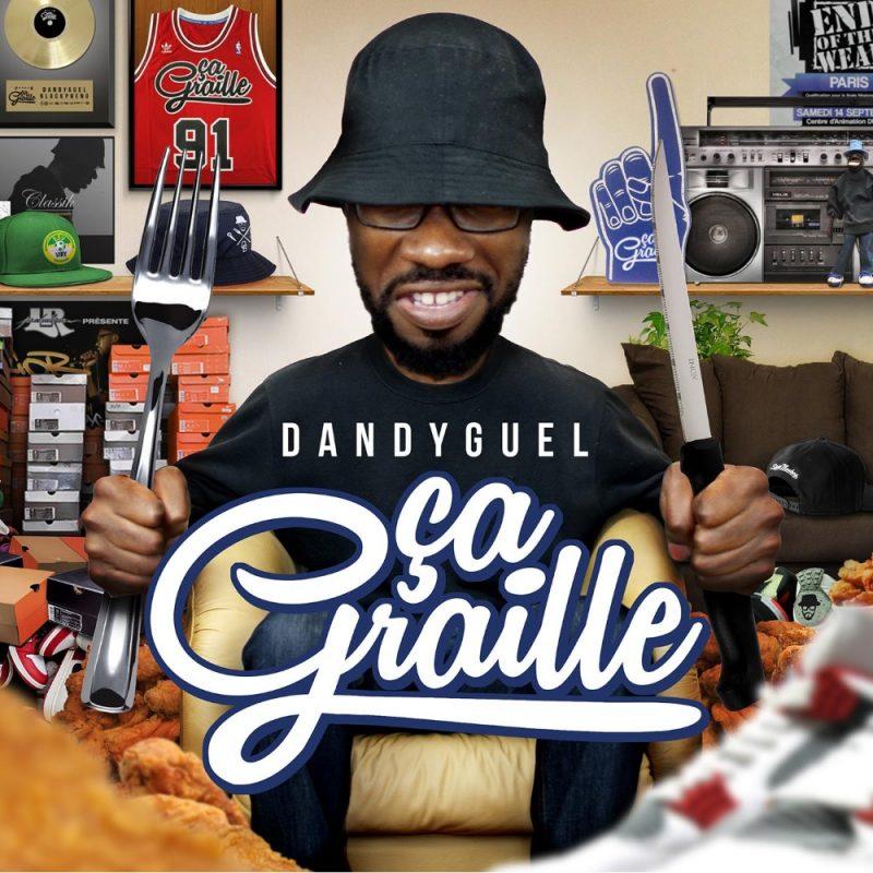 cover album cd rap francais dandyguel ça graille shoptonhiphop