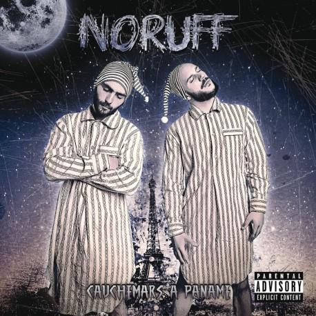 cover album cd rap francais noruff skud et safir cauchemar a paname shoptonhiphop