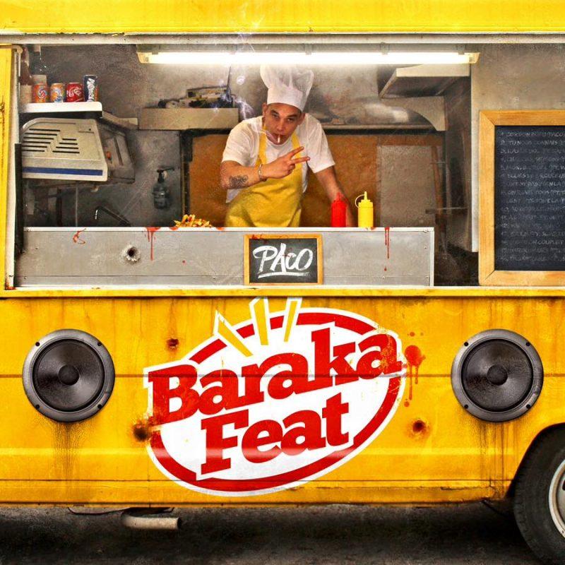 cover album cd rap francais paco baraka feat shoptonhiphop