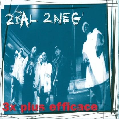 cover album vinyle rap francais 2 bal 2 neg 3 fois plus efficace reedition shoptonhiphop