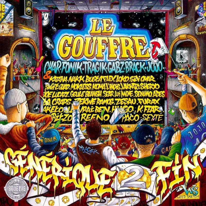 cover album vinyle rap francais le gouffre générique de fin 2 shoptonhiphop