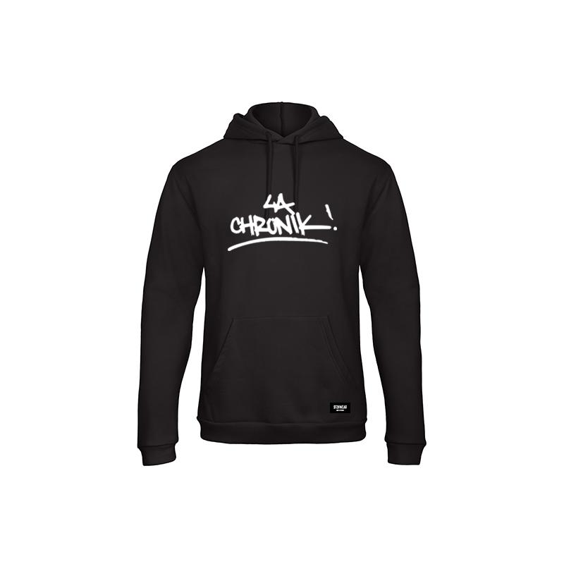 hoodie-noir-lachronik-shoptonhiphop-streetwear