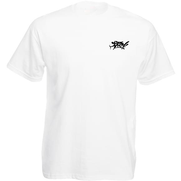 tee-shirt-ST2H-signature-small-blanc-streetwear-shoptonhiphop