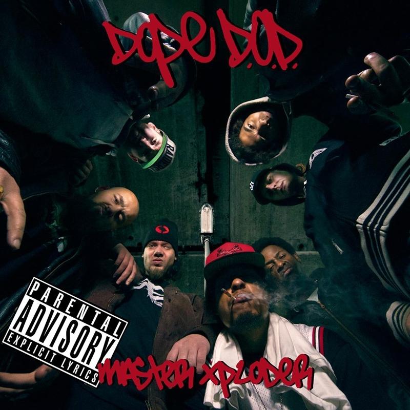 Cover album cd rap us DOPE D.O.D. MASTER XPLODER shoptonhiphop