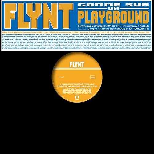Cover album vinyle flynt comme sur un playground shoptonhiphop