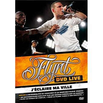 Cover dvd live flynt j'eclaire ma ville shoptonhiphop