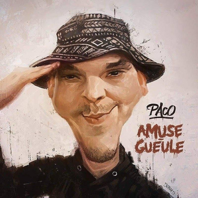 Album cd rap francais paco amuse gueule shpotonhiphop