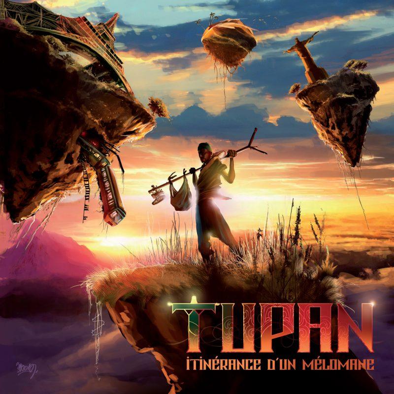 Cover album cd rap francais tupan itinerance d un melomane shoptonhiphop