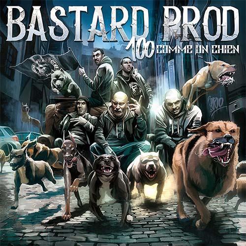 Cover album vinyle bastard prod 100 comme un chien shoptonhiphop