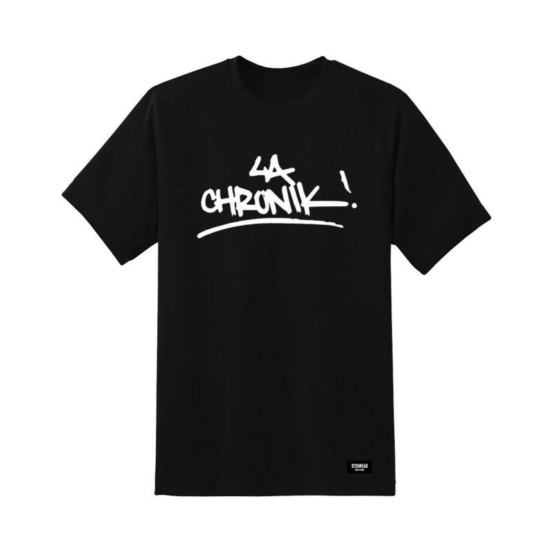 tee-shirt-noir-lachronik-shoptonhiphop-streetwear