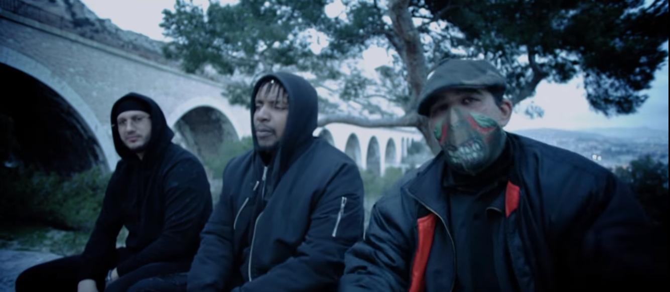 Clip rap francais L1DZ Meda rimes red Jungle urbaine ft Freeman 10Vers shoptonhiphop
