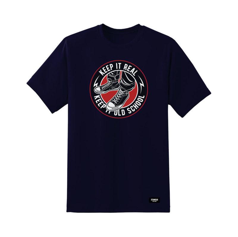 tee-shirt-ST2H-keepitreal-navy-streetwear-shoptonhiphop