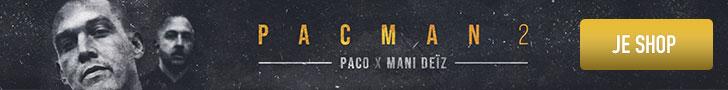 Paco & Mani Deïz - PACMAN 2 - Album rap français - Shoptonhiphop