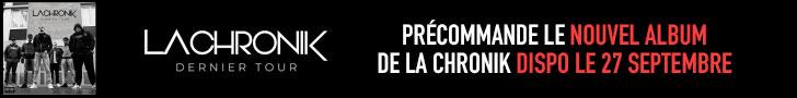 La Chronik - Dernier Tour - Album rap français - Shoptonhiphop